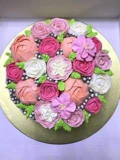 Bouquet cake / flower cake