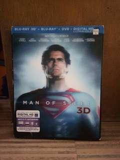 Man of Steel superman Blu-Ray Disc DVD CD