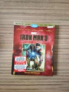 Iron Man 3 Blu-Ray Disc DVD CD