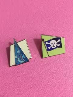 2個 Disney LE600 pin