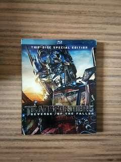 Transformers Revenge of The Fallen Blu-Ray Disc DVD CD