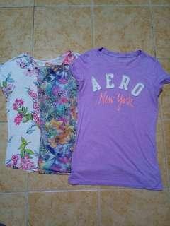 3pcs Bundled Clothes Medium Size (PRELOVED)