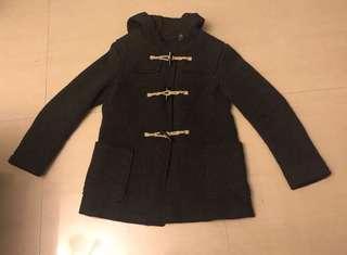🚚 Uniqlo牛角扣大衣外套