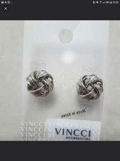 Ideal X'mas Gift - Brand New Vincci Earrings