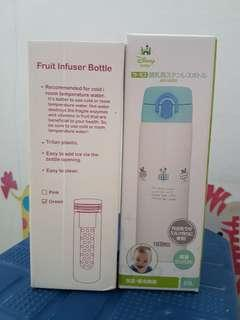 Brand new Disney Baby Thermos & Fruit Infuser Bottle