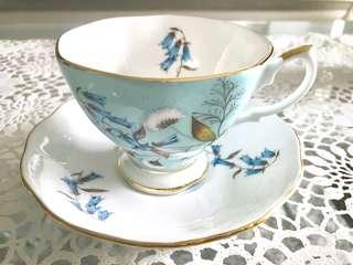 Royal Albert teacup and saucer - 1950's Festival