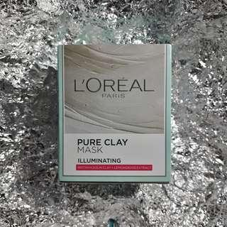 L'oreal Pure Clay Mask - Illuminating