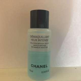 Chanel DÉMAQUILLANT YEUX INTENSE Gentle Bi-phase eye makeup remover 雙效眼部卸妝液 性質溫眼部卸妝液