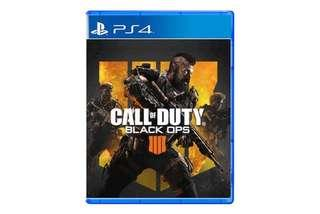 ( Preowned ) PS4 Call of Duty Black Ops 4 For Trade/ Sale.