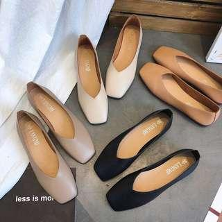 Faux Leather Mollie Flats ✨CHEAPEST ON CAROUSELL✨