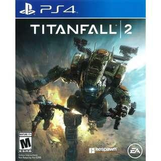 Wanted to Trade/ Sell Brand New PS4 Titanfall 2.