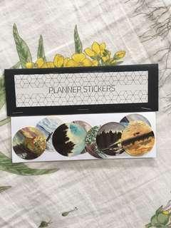 Planner sticker (Nature scenery)