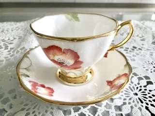 Royal Albert Teacup Saucer - Poppy