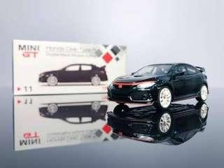 馬來西亞限定 MiniGT Honda Civic Type R FK8 Crystal Black Modulo Edition