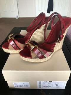 Burberry wedges size 36