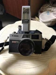 Vintage Camera - canon - CANOLITE D