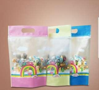 23.5x15.5cm Ziplock Gift Bag / Goodies Bag / Cookie Bag
