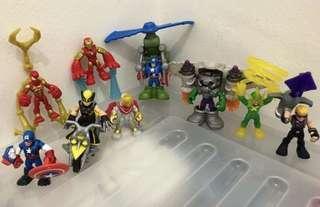 Playskool Heroes Avengers figures