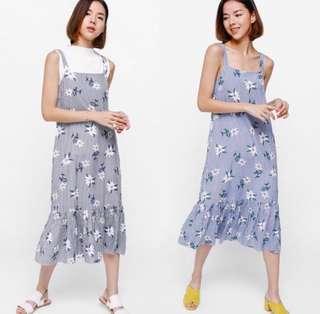 Love Bonito Faeya Printed Ruffle Hem Dress