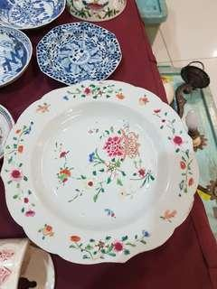 17th C Chinese Export Plate