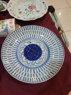 Ching dynasty Buddhist plate