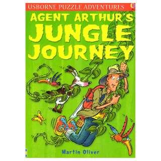 (Brand New) Agent Arthur's Jungle Journey  [Usborne Puzzle Adventures S.]   By: Martin Oliver, Paddy Mounter (Illustrator)