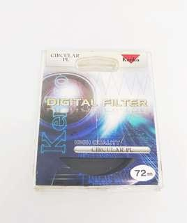 Kenko CPL ( Circular Polarizer) Filter 72mm