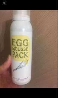 🚚 雞蛋面膜