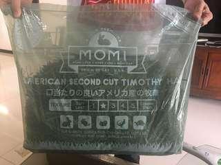 Momi 2nd cut 摩西穗牧草 龜兔適用