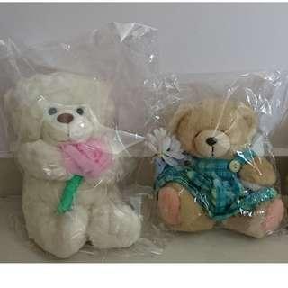 Soft Toys White Bear Forever Friends