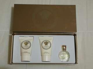 Versace Eros Pour Femme 3 Pieces Travel Kit - Eau De Parfum, Show