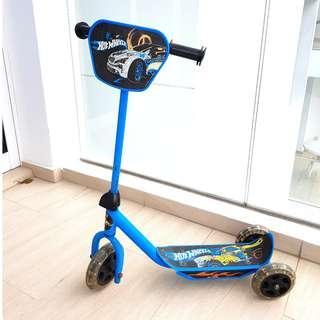 3 Wheels Hot Wheels Scooter for kids