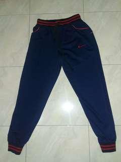💜 Nike Celana Olahraga Training Pants Navy Blue