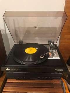 🚚 黑膠唱盤(附唱頭)