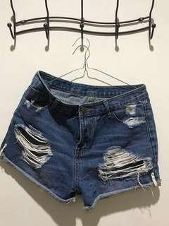 women denim's shorts