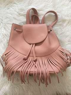Pastel Pink Backpack