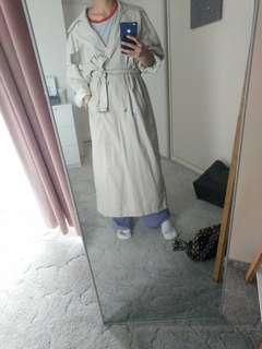 Long trech coat/jacket
