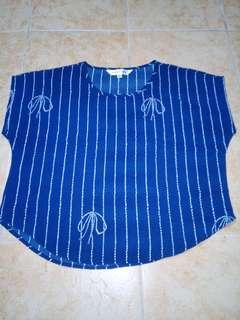 Moussy Blue Blouse (PRELOVED)