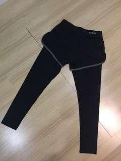 Workout/ yoga black legging/ long pant