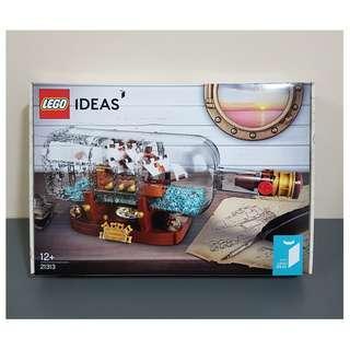Lego 21313 IDEAS Ship In A Bottle - Brand new MISB