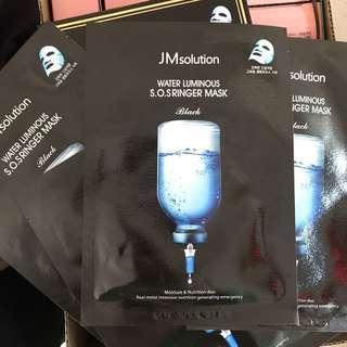 JM Solution water luminous SOS ringer mask 司肌研急救針劑面膜 $5/1片