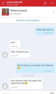 Testimonial from our customer