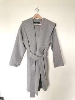 🚚 ZARA 99成新 ,手工羊毛連帽外套!原價4990