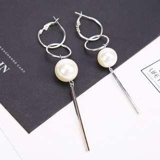 Pearl Tangle Earrings