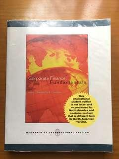 Corporate Finance Fundamentals (McGraw Hill)