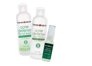 Human Nature Acne-free in Three