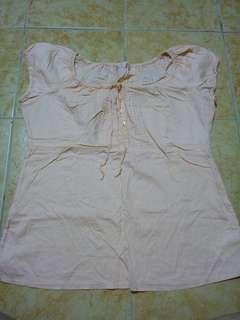 Peach Shirt (PRELOVED)