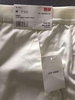 Uniqlo Satin Ankle Length Pants