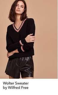 Aritzia Wilfred Wolter sweater