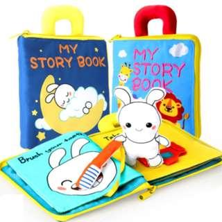 High Quality Baby Activity Soft Cloth Books